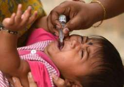 Polio immunization drive commences to vaccinate 39 mln children