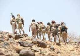 الجيش اليمني يعلن مقتل وإصابة 27 من مسلحي الحوثيين بمواجهات في شمال الضالع