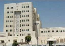 سوريا تطالب مجلس الأمن باتخاذ إجراءات حازمة لمنع لتكرار الاعتداءات الإسرائيلية - سانا