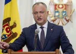 Moldova President Says Hopes to Meet With Putin Next Week to Discuss Bilateral Agenda