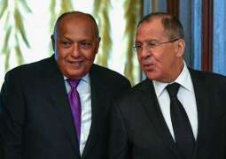 Russian, Egyptian Foreign Ministers Discuss MidEast, Russia-African Union Summit - Moscow