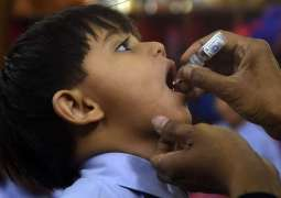 Polio eradication campaign kicks off in district Hyderabad Sindh