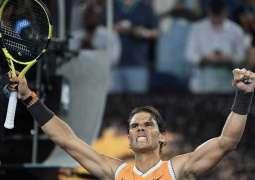 Nadal relentlessly marches on as emotional Kvitova makes Open semis