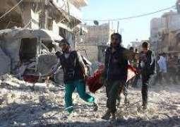 إصابة عسكري سوري بجروح في قصف المسلحين لمدينة حلب-مركز المصالحة الروسي