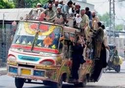 RTA Rawalpindi challans 756 PSVs, impounds 153 on rules violations