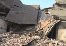 Gas explosion claims one life, injures four