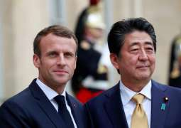 Abe, Macron Hope for Nissan-Renault Further Cooperation After Management Reshuffle - Tokyo