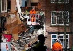 السلطات الهولندية تعلن عن انهيار مبنى سكني في لاهاي
