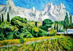 A painting by famous Russian landscape artist Arkhip Kuindzhi, titled Ai-Petri. Crimea, was stolen on Sunday from Moscow's Tretyakov Gallery