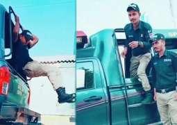 Policemen or actors? Karachi police officers in hot waters over TikTok videos
