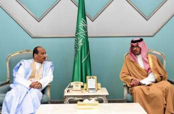 الرئيس الموريتاني يصل المدينة المنورة