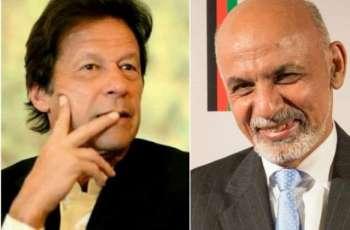 Afghan president telephones PM Imran, invites him to visit Afghanistan