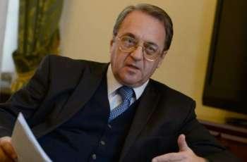 بوغدانوف يبحث مع السفير الإسرائيلي في موسكو آفاق التسوية الفلسطينية الإسرائيلية