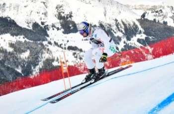 Alpine skiing: Paris tops second Wengen training run