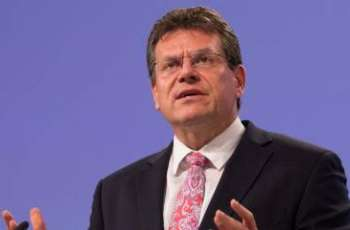 EU Expects Russian Gas Supply Via Ukraine to Continue Uninterrupted This Winter - Sefcovic