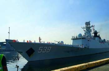 Chinese naval escort fleet concludes visit to Philippines