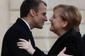 Macron, Merkel Sign Treaty on Franco-German Cooperation, Integration