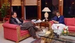 وزيراعظم عمران خان سان صوبائي اسيمبلي ميمبر علي گوهر خان جي ملاقات