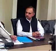 وفاقی وزیر پاور ڈویژن عمر ایوب خان دا نیشنل پاور کنٹرول سینٹر دا دورہ ، بجلی دی ترسیل اتے پیداواردی صورتحال دا جائزہ