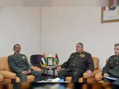 Armed Forces Chief of Staff, Jordanian counterpart discuss cooperation relations