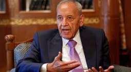 شكري يبحث مع رئيس مجلس النواب اللبناني تشكيل الحكومة والتطورات الإقليمية