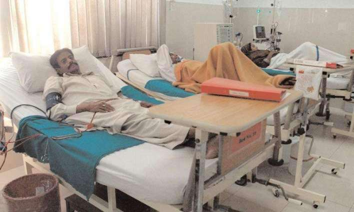 Over 1.3 mln patients treated at GHQ hospital OPD last year