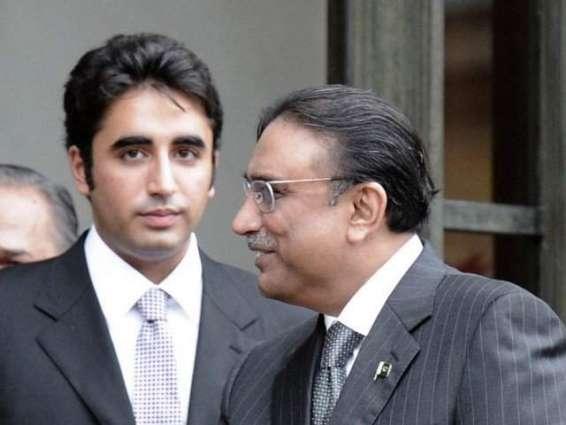 Bilawal,Asif Ali Zardari facilitates newly elected body of National Press Club