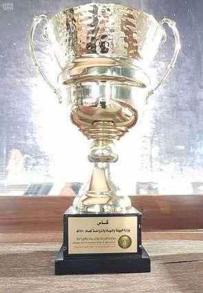 الغامدي يتوج الفارس قصي جليدان بكأس وزارة البيئة والمياه والزراعة