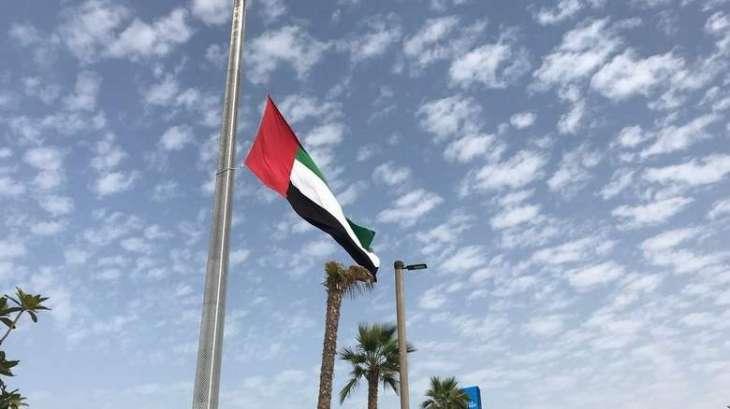UAE Rulers, Sheikhs offer funeral prayers on body of Sheikha Naila bint Rashid Al Nuami