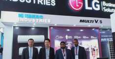 LG Electronics displays its latest portfolio of Air Solutions during Pakistan's HVACR Expo