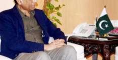 IT Minister Dr. Khalid Maqbool Siddiqui visits SCO