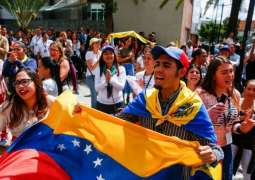 Dozens Protest in Montevideo Amid International Contact Group Meeting on Venezuela