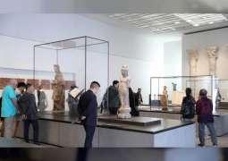 """قاعة """" الأديان العالمية """" بمتحف """" اللوفر أبوظبي """" تجسيد لقيم التسامح"""