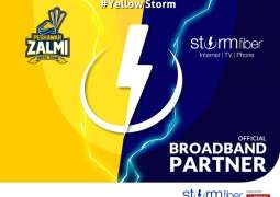 StormFiber and Peshawar Zalmi come together to bring the Yellow Storm to PSL 4