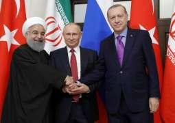 Lukashenko Joins Meeting of Putin, Rouhani, Erdogan in Sochi - Kremlin