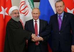 Putin, Rouhani, Erdogan Discuss Syria in Sochi