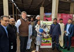 European Union Delegation visits Engro Foods beneficiary dairy farmer in Karachi