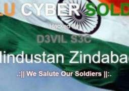 Indian hackers target Pakistani news websites
