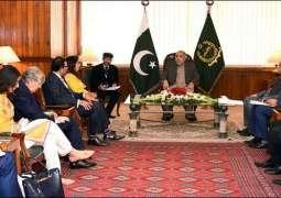 National Assembly Speaker, British delegation discuss grave HR situation in occupied Kashmir