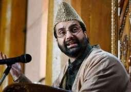 Shun war rhetoric, talks only way to resolve Kashmir: Chairman Hurriyat Conference (M) Mirwaiz Umar Farooq  tells New Delhi