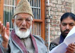 Hurriyat Conference (G) chairman Syed Ali Shah Geelani  blames Delhi for Kashmir being in mess