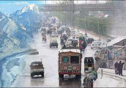 Cold and dry weather in parts of country, sporadic rainfall in GB region