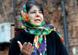 Mehbooba Mufti warns India of repercussions before abrogating Article 35A