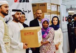 UAE Embassy in Jordan supervises winter campaign for Syrian refugees