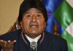 Morales Wonders Why US Seeks Dialogue With N.Korea While Not Doing Same With Venezuela