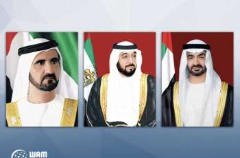 UAE leaders congratulate Lithuanian President on Independence Day