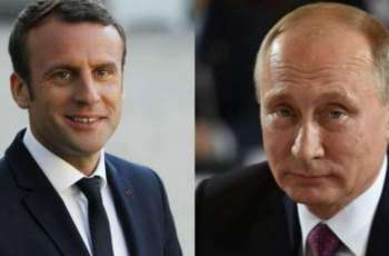 Macron Discussed Syria, Ukraine in Phone Call With Putin - Presidential Office