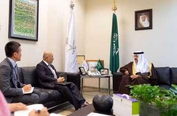 الأمير سلطان بن سلمان يستقبل سفير دولة اليابان