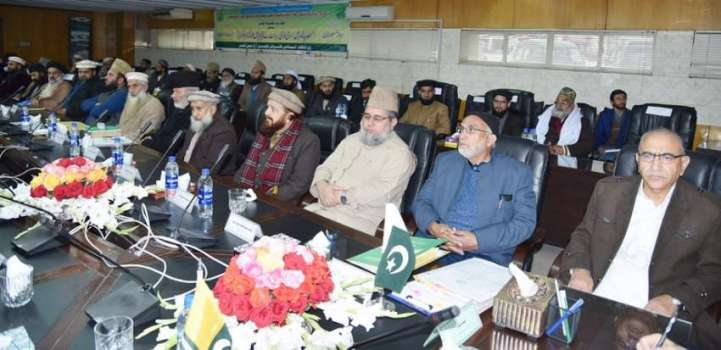 Masood urges ulema to strive for welfare society based on justice ..