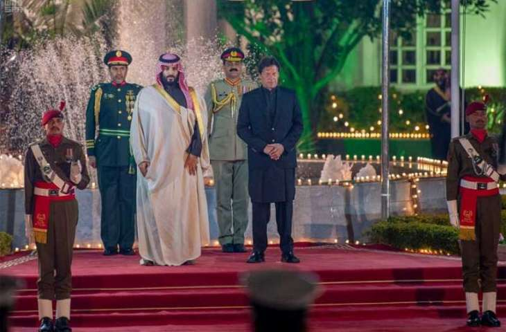 سمو ولي العهد يصل باكستان في زيارة رسميةإضافة أولى